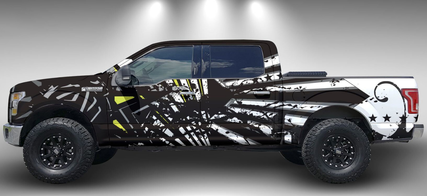 Camo Vinyl Siding For Trucks 8 Best Decals For Ford Ranger